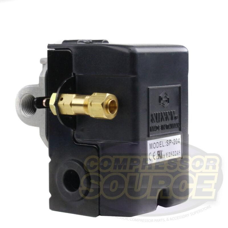 Heavy Duty 4port 25 Amp Air Compressor Pressure Switch Control Valve 105-135 PSI