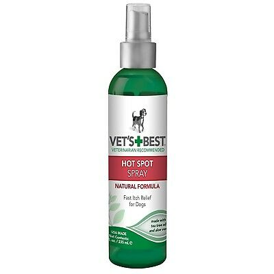 Vet's Best Natural Formula Hot Spot Spray Itch Relieffor Dogs 8