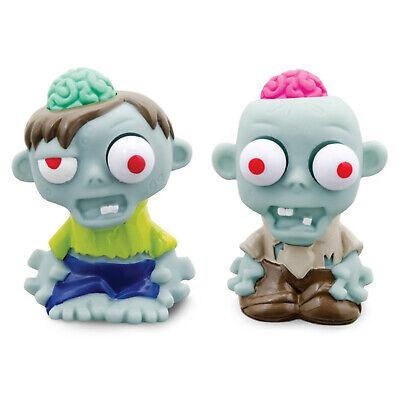 Stressbälle Mini Zombie Gehirn Antistressbälle Baby Zombie 2er Set Stressball