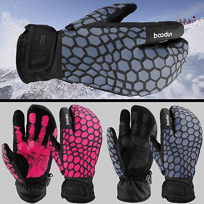 (Winter Snow Ski Gloves Touch Screen Warm Thermal Waterproof Men/Women Outdoor)