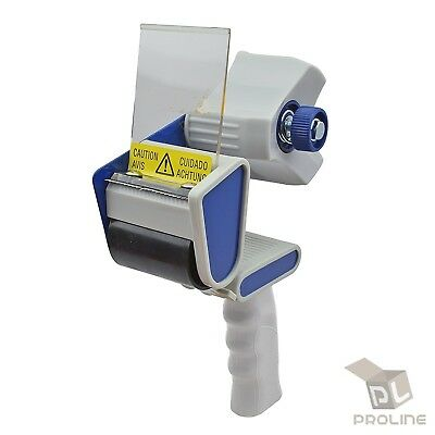2 Heavy Duty Tape Gun Dispenser Packing Machine Shipping Grip Sealing Cutter