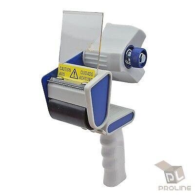 2 Heavy Duty Tape Gun Dispenser Packing Machine Shipping Grip Sealing Cutter