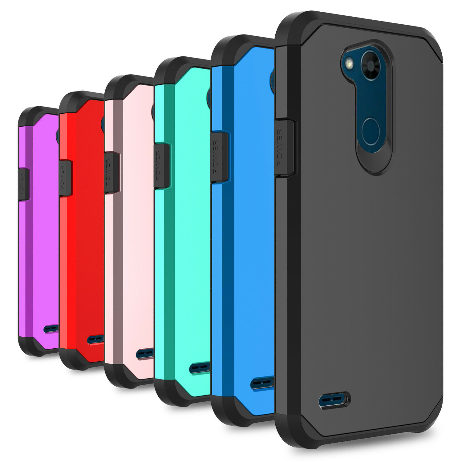 Купить ZENIC Combo 2 in 1,Tough Protection - For LG Fiesta LTE/X Charge Case Shockproof Armor Hybrid PC Silicone Phone Cover