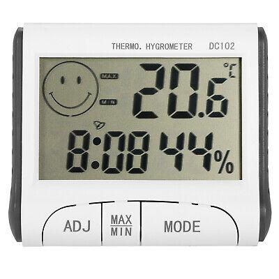 Digital Lcd Indoor Hygrometer Thermometer Meter Temperature Humidity Monitor