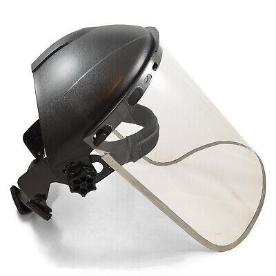 Jackson Style Headgear And Clear Face Shield W Aluminum Rim