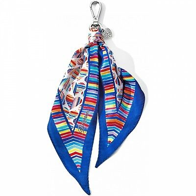 NWT Brighton BRIGHT HEARTS Scarf Fob Let's Hang Out  MSRP $40 - Brighton Jewelry Outlet