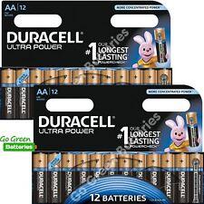 24x Duracell AA Ultra Power Alkaline Batteries Duralock LR6 MX1500 MN1500 MIGNON