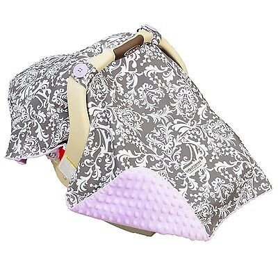 "CARESEAT CANOPY BABY CAR SEAT CANOPY COVER BLANKET COTTON BRAND NEW "" BELLE "" on Rummage"