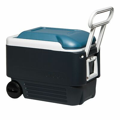 IGLOO MAXCOLD MOBILE COOLER 40 ROLLER  38 LITRE PORTBALE COOL BOX ICE CHEST