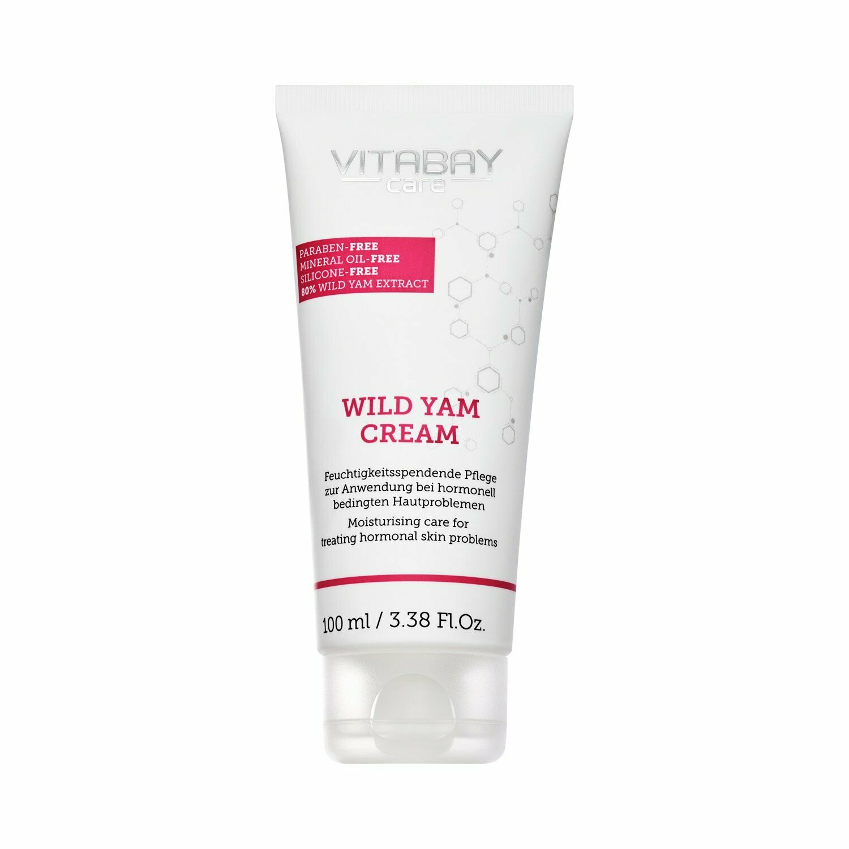 Wild Yams Creme 100 Ml Extra Stark – Mit 80% Wild Yams Extrakt - 64% Diosgenin