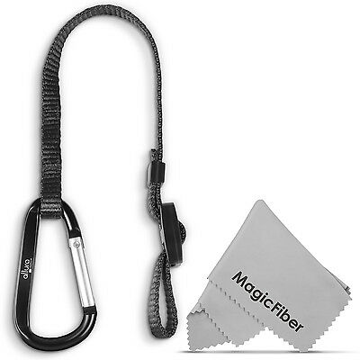 Rapid Fire™ Camera Safety Tether Leash with Clip for DSLR Strap by Altura Photo®