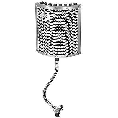Neewer Lightweight and Portable Isolation Microphone Shield with Gooseneck