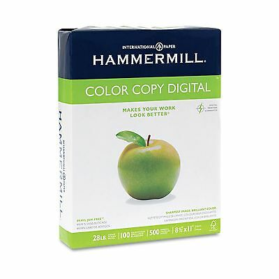 Hammermill Copier Paper100 Brightness 28lb 8 12 X 11 Photo White - 500ream
