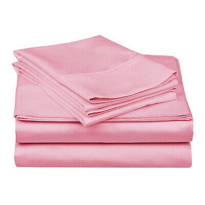 Soft Sheet Set With Deep Pocket, Cotton Rich, 15 Colors 15 Deep Pocket Sheet Set