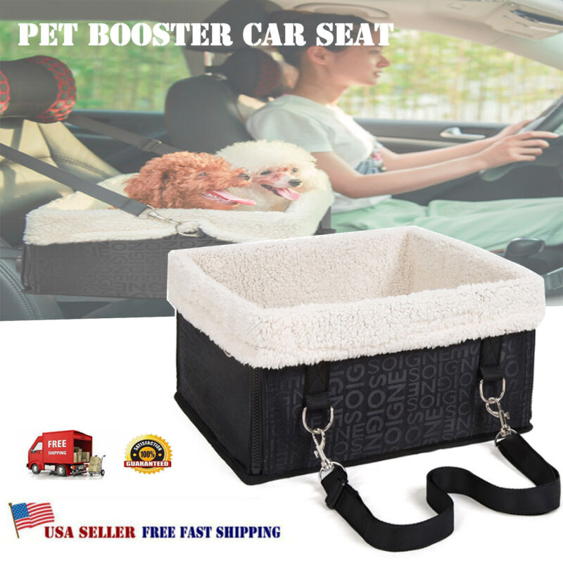 Pet Dog Cat Puppy Booster Car Seat Outdoor Carrier SUV Secure Safety Travel Seat