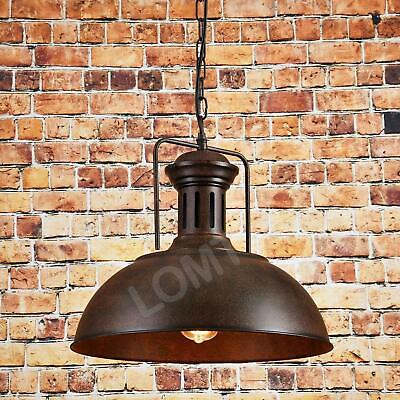 Vintage Ceiling Light Retro Farmhouse Chandelier Rustic Pendant Industrial Lamp