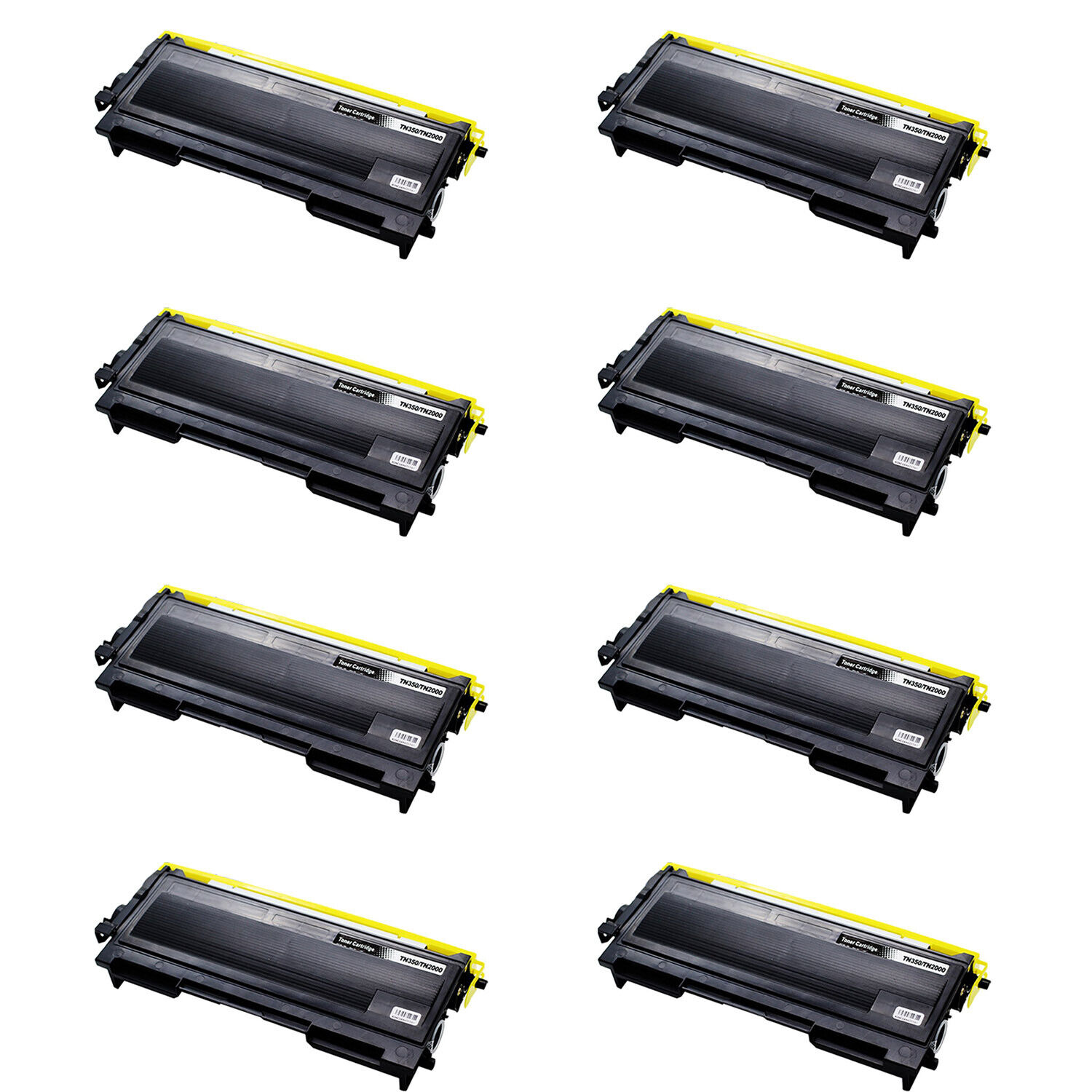 8pk tn350 toner cartridge for brother hl 2035 2045 2050. Black Bedroom Furniture Sets. Home Design Ideas