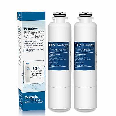 2 Replacement Water Filter Samsung Fridge DA29-00020A HAF-CIN/EXP DA-97-08006A 2 Replacement Water Filter