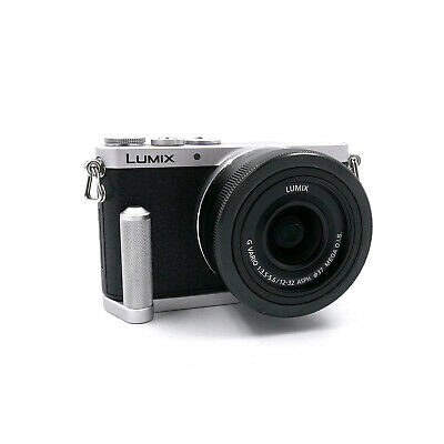 Panasonic Lumix GM1 mit Griff + Panasonic G Vario 12-32 mm 1:3,5-5,6 second hand