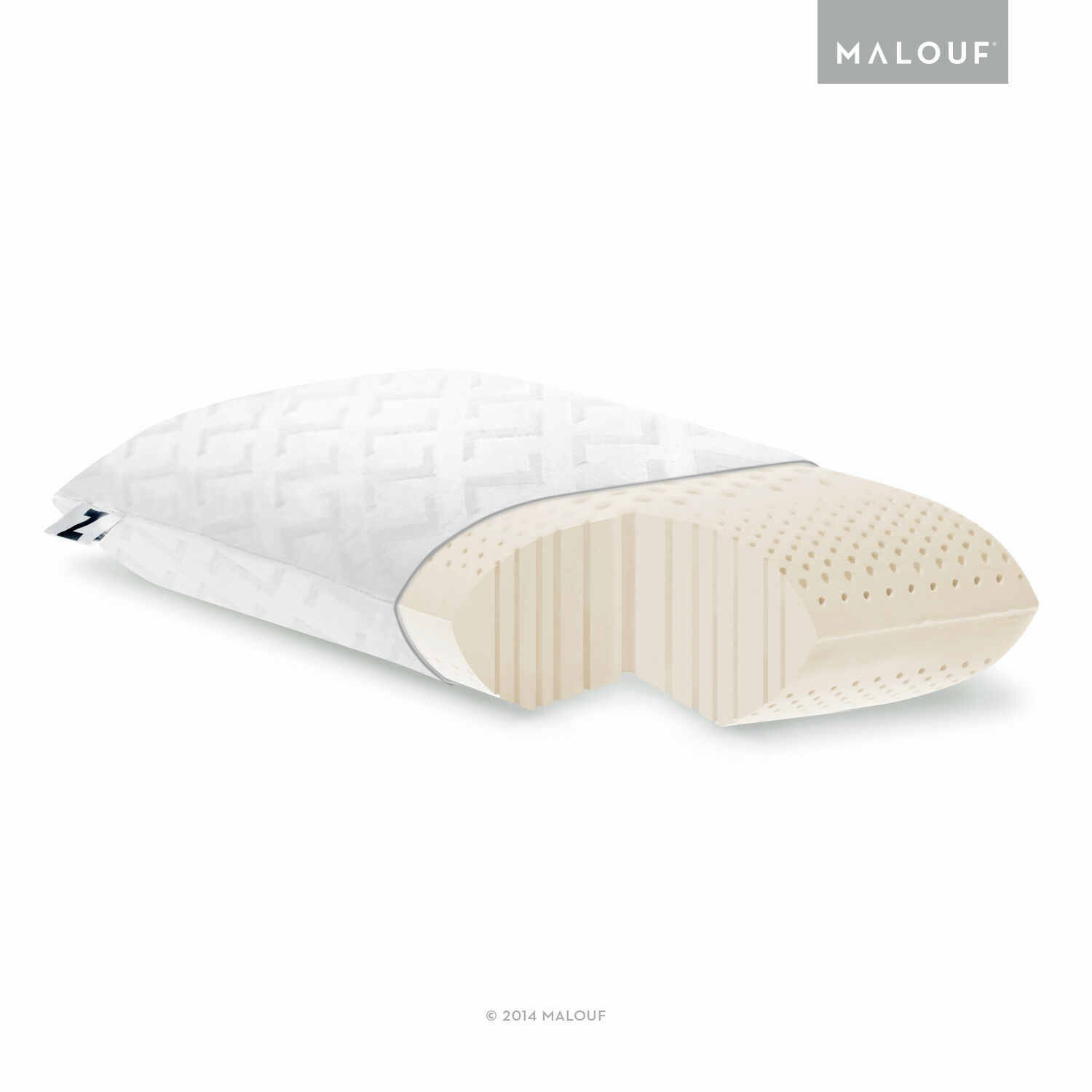 Z Zoned Ultra Soft Dough Foam Bed Pillow - 5 Year Warranty -