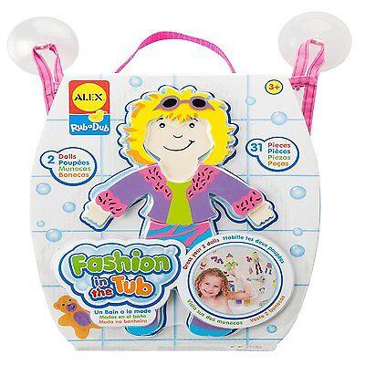 (Alex Toys 806 Rub a Dub For Tub Fashion Bath Toys Stickers For Kids Age 3yr Plus)