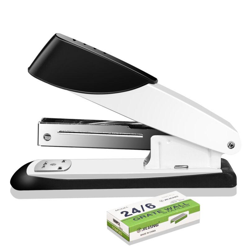 Desktop Desk Manual Stapler with 1000 Staples for Office