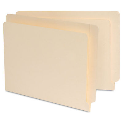 Universal Manila Reinforced Shelf Folder Nine Inch High Front Letter 100box