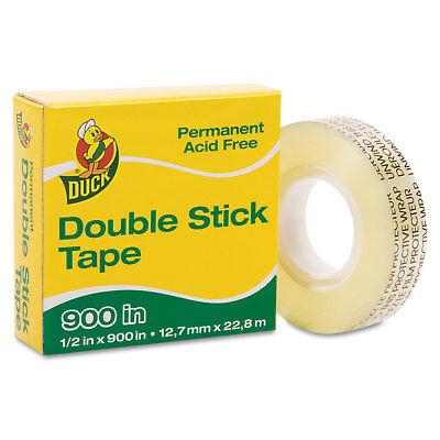 Duck Permanent Double-stick Tape 12 X 900 1 Core Clear 1081698