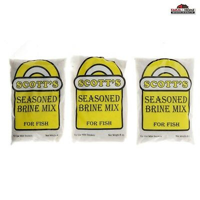 3 Seasoned Fish Brine Mix Seasoning ~ New