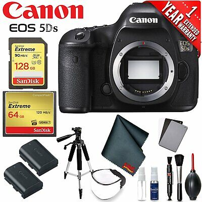 Canon EOS 5DS DSLR Camera (Body Only) (Intl Model) Version Professional Photogra