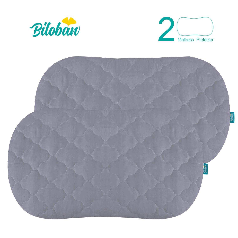 Oval/Hourglass Waterproof Soft Bassinet Mattress Pad Cover 2