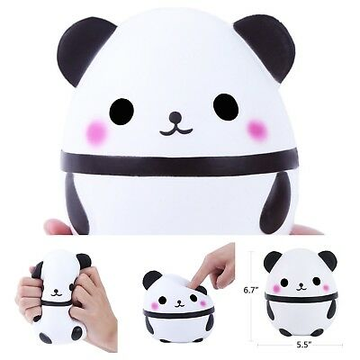 Large Soft Panda Squishy Slow Rising Kids Play Toy Doll Stress Relief Squishy Large Play Doll