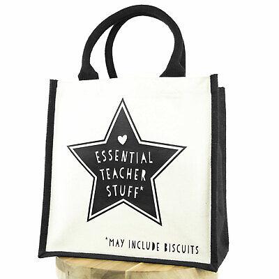 Essential Teacher Stuff canvas bag | Perfect teacher gift - Teacher Stuff
