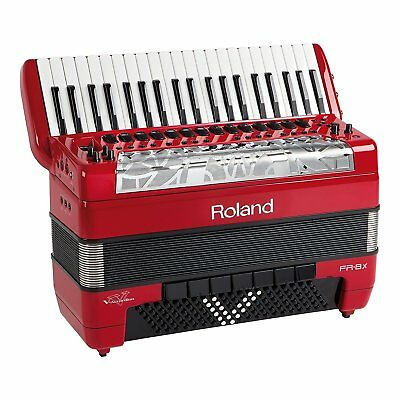 Roland V accordion FR-8X red EMS 2-3weeks arrive!
