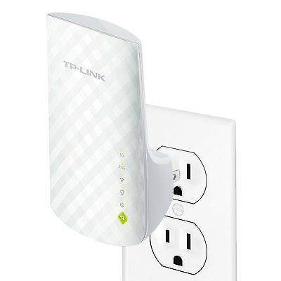 TPLink AC750 Dual Band WiFi Range Extender (RE200)