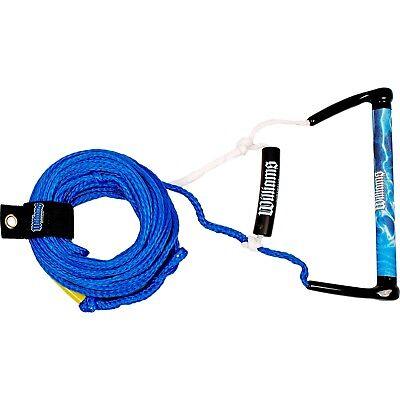 Williams Water Ski Kneeboard Ski Rope Long Vee + Kneeboard Handle #5614L BLUE