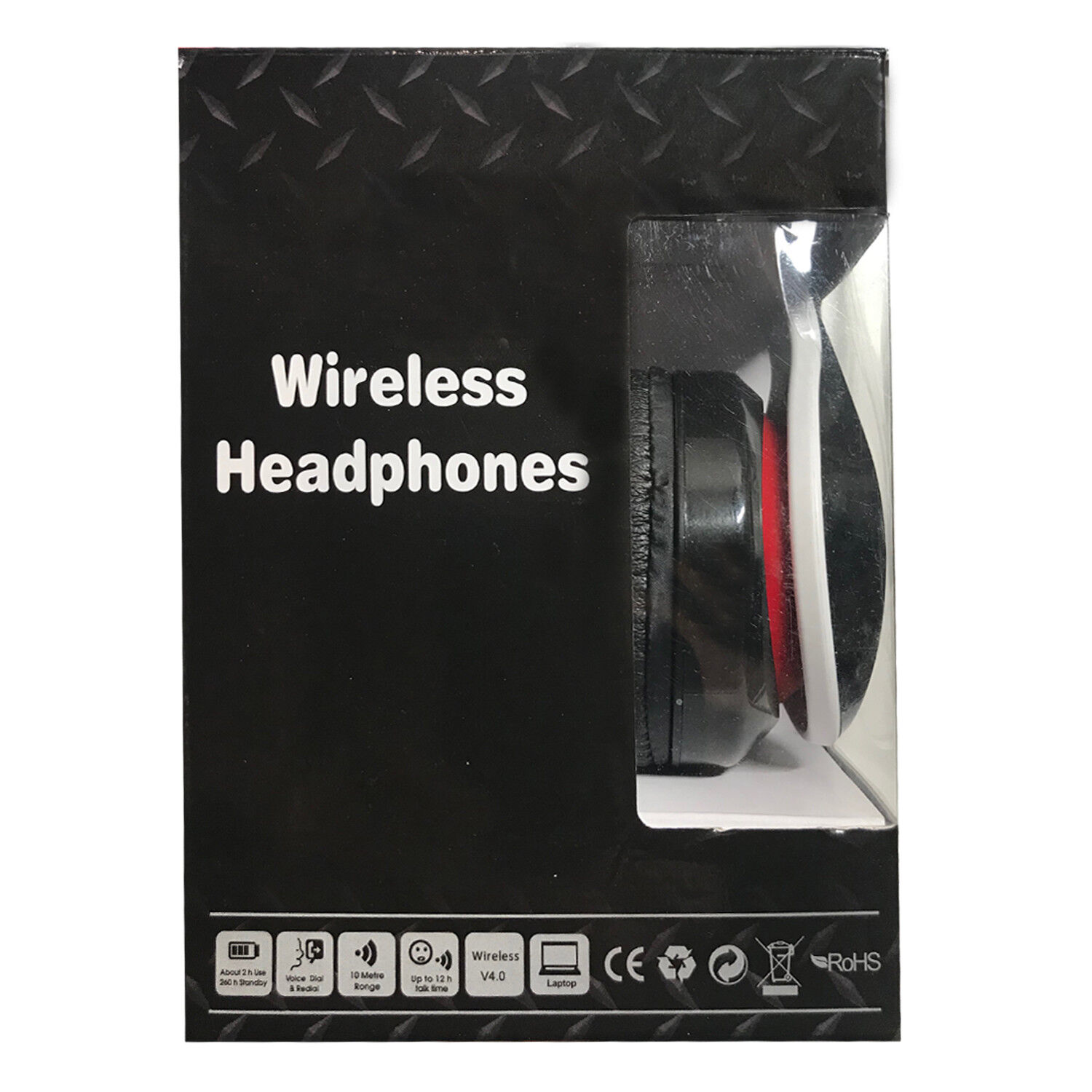 Fordable Bluetooth Wireless Stereo Headphones With Microphon