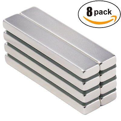 Powerful Neodymium Bar Magnets Rare-earth Metal Neodymium Magnet N45
