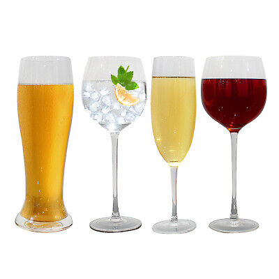 Giant Champagne Glass (Large Prosecco Gin Wine Beer Champagne Flute Glass Huge Novelty Giant)