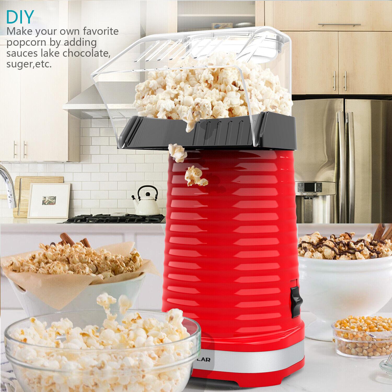 OPOLAR Hot Air Popper Popcorn Maker 1200W Electric Popcorn M