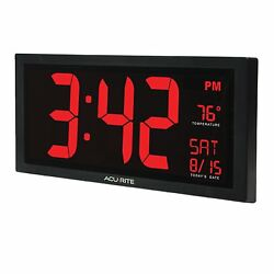 Chaney Instruments 75100C Acurite Digital 18 Wall Clock