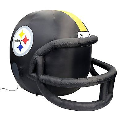 4' Pittsburgh Steelers Airblown Inflatable Helmet - Helmet Inflatable