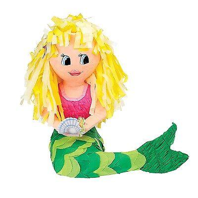 Mermaid | Sea Horse | Shell | Pearl Party Pinata | Game (Pinata Horse)