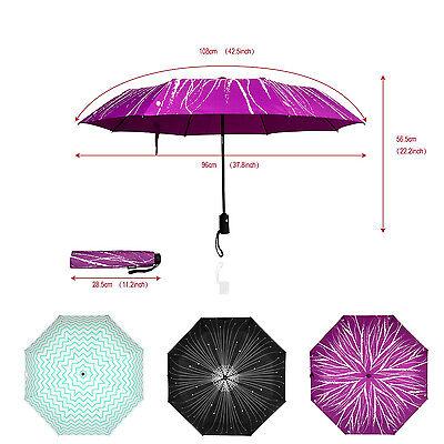 Mosiso Portable Umbrella , Daily use Light Compact Automatic Open Close Folding