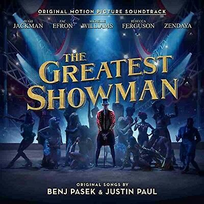 The Greatest Showman Audio Cd Soundtrack Academy Awards Winner