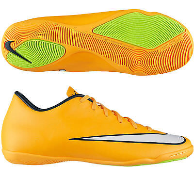 Nike Mercurial Victory V Ic Mens Laser Orange Indoor Football Trainers Uk 10 New