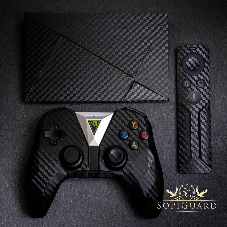 SopiGuard 3M Avery Carbon Fiber Sticker Skin Set For Nvidia