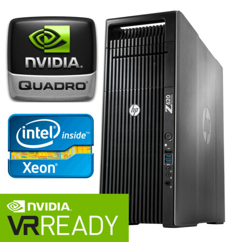 Hp Z620 24-core Workstation Pc 2.7ghz Nvidia Quadro Rtx 4000 192gb Ram 1tb Ssd