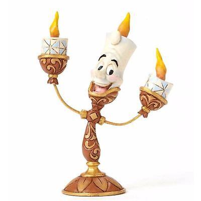 Disney Traditions Ooh La La Lumiere Candlestick Ornament Resin Figurine Gift Box