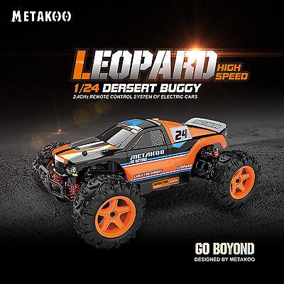 RC Geländewagen Elektro Buggy Auto Geschwindigkeiten bis 40km/h Maßstab 1:24 online kaufen